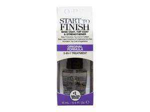 Start to Finish Base & Top Coat Strengthener # NT T70 - 0.5 oz Nail Strengthener