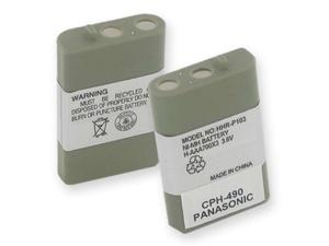 Empire Battery CPH-490 Replaces PANASONIC HHR-P103 NiMH 700mAh
