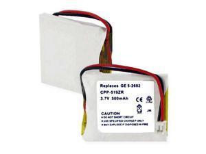 Empire Battery CPP-519ZR Replaces GE 5-2682 LI-POL 500mAh