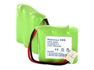 Empire Battery CPH-450C Replaces 1x3-2/3AAA NiMH 350mAh/C CONNECTOR USA SHIP