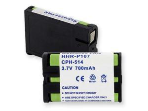 Empire Battery CPH-514 Replaces PANASONIC HHR-P107 NiMH 700mAh
