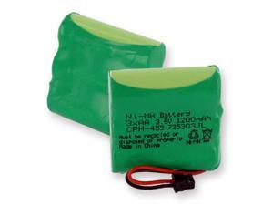 Empire Battery CPH-459 Replaces PANASONIC HHR-P401 NiMH 1200mAh