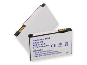 Empire Battery BLI-919-.8 Replaces MOTOROLA RAZR V3 LI-ION 800mAh
