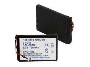 Empire Battery CPL-507Q Replaces UNIDEN BT-925 LI-ION 720mAh
