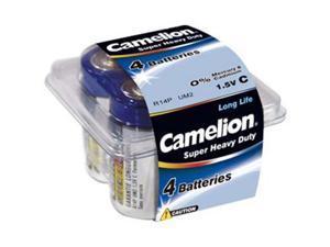 Camelion R14P 1.5V 3850mAh C Super Heavy Duty 4pk Plastic Tub FAST USA SHIP