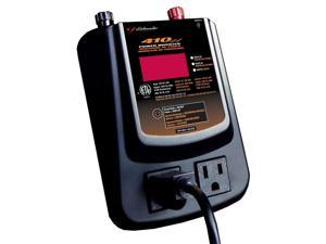 Schumacher PID-410 Power Inverter 410 Watt w/Digital Display & Batt. Clamps