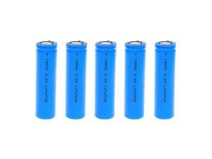 5x Exell Battery Li-FePO4 Size 18650  Rechargeable  Battery 3.2V 1500mAh