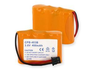 Empire Battery CPB-403B Replaces 3X2/3AA NCAD 400mAh/B CONNECTOR