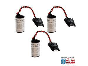 3pc ALLEN BRADLEY 1747-BA 1769-BA 1769-BA2 SLC500 Replacement Batteries USA SHIP
