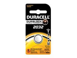 Duracell Coin Cell Battery DL2032 3V Lithium Replaces CR2032, KL2032 FAST SHIP