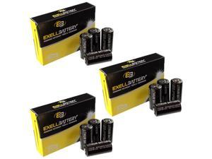 3x 4pc 3V 1500mAh Dog Collar Battery Replaces Innotek CS-200 System USA SHIP