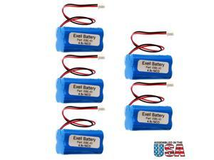 5pc Emergency Lighting Battery Interstate NIC0186 Simkar 6600012 FAST USA SHIP