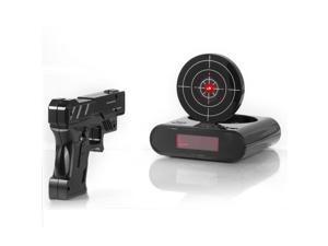 Newest funny gun alarm clock target alarm clock creative clockNewest-Lock-N-load-Gun-alarm-c