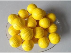 24 pcs/ Lot indoor PU golf ball golf practice ball elastic