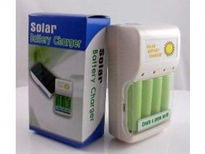 1W Solar Battery Charger + USB Charging for 5# dry cell NI-CD NI-OH 1-4pcs AA  battery charger ( battery excluded)