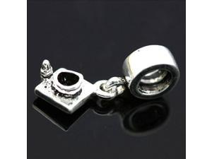 Spacer Pendant 925 Sterling Silver European Charm Bead for Pandora Bracelet Necklace Chain
