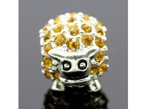 Kirin Crystal Stone 925 Sterling Silver European Charm Bead for Pandora Bracelet Necklace Chain