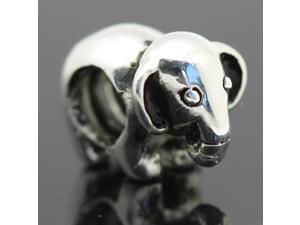 Cow European Charm 925 Silver Bead fit Pandora Snake Chain Bracelets/Necklace Chain
