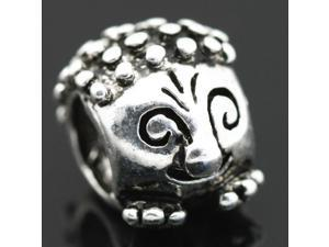 Small Hedgehog European Charm 925 Sterling Silver Bead fit Pandora Bracelet Necklace Chain