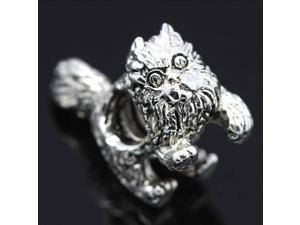 Garfield Cat 925 Sterling Silver European Charm Bead for Pandora Bracelet Necklace Chain