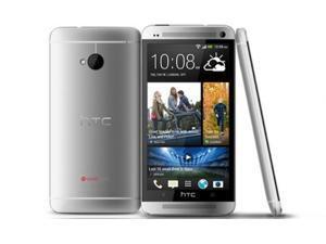 The New HTC One M7 801E 16GB (Unlcoked) 4.7in Beats Audio Quad-Core Silver