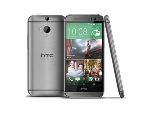 "New Unlocked HTC One M8 (Latest Model) 5"" 16GB 2.5GHz LTE Smartphone - Gunmetal Gray"