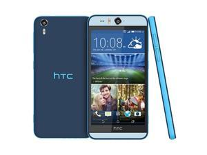 "New Unlocked HTC Desire EYE M910x Dual 13MP Camera  5.2"" 4G LTE 16GB Smartphone - Blue"