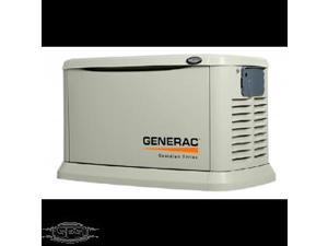 Generac 22 kW Air-Cooled Standby Generator (Unit Only) With Gray Aluminum enclosure Model # 6552