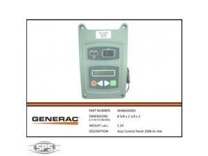 Generac Control Panel Assembly 0H06430SRV