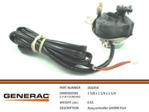 Generac Guardian 0G6454 STEPPER MOTOR ASSEMBLY GTH990 PORT