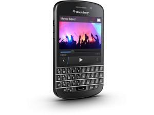 Blackberry Q10 Black 16GB Factory Unlocked, International Version - 4G / LTE 3, 7, 8, 20 (1800 / 2600 / 900 / 800 MHz)