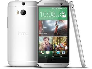 HTC One M8 - Factory Unlocked  (Glacial Silver)