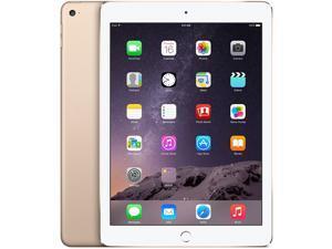 """Apple iPad Air 2 16GB 9.7"""" Retina Display Wi-Fi Tablet - Gold - MHOW2LL/A"""