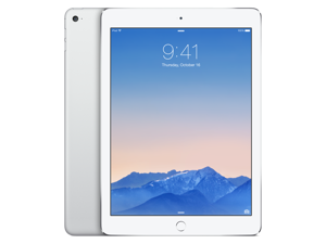 Apple iPad Air 2 MGTY2LL/A (128GB, Wi-Fi, Silver) NEWEST VERSION