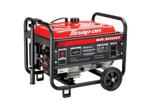 Snap-on 3000 Watt Portable Gasoline Generator – CARB and EPA Compliant (70826)