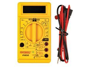 Powerbuilt� Digital Multimeter  - 648349