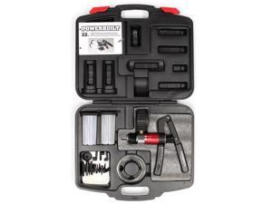 Powerbuilt Automotive Vacuum & Pressure Testing and Bleed Kit – 648744