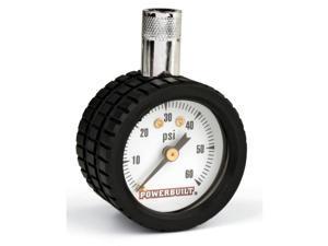 "Powerbuilt Tire Gauge - 1.5"" Dial Type - 940188"
