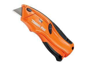 Trades Pro Quick Change Squeeze Blade Safety Utility Knife Box Cutter - 838013