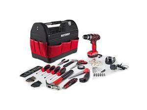 Mastergrip 44 Pcs Tool Set with Lithium Ion Cordless Drill and Tool Bag