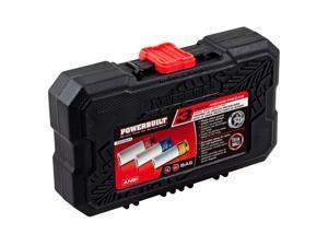 "Powerbuilt® 3 pc 1/2"" Drive SAE Lug Nut Socket Set with Wheel Sleeves - 940845"