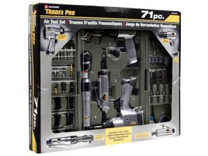 Trades Pro 71 Piece DIY Starter Air Tool Accessories Kit Set with Storage Case