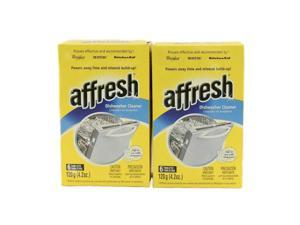 WHIRLPOOL AFFRESH DISHWASHER CLEANER 12 TABLETS 2 (6 PACK) BOXES