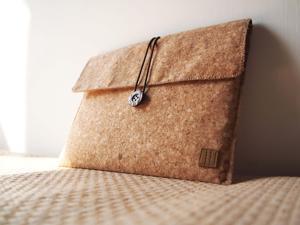Paralife Custom Handmade Cork Computer Tablet Laptop bag pouch sleeve case cover purse for Apple iPad mini (can also custom ...