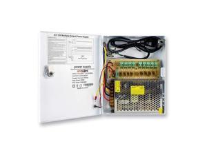 Spyclops Security 9-Way 10-Amp Power Distribution Box