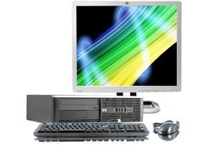 "HP 6005 Pro AMD Sempron 2800 MHz 160Gig HDD 2048mb DVD ROM Windows 7 Professional 32 Bit + 19"" LCD Desktop Computer"