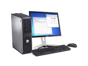 "Dell Optiplex 760 Intel Core 2 Duo 2600 MHz 1 Terabyte HDD 8192mb DVD ROM Windows 7 Professional 64 Bit + 19"" LCD Desktop Computer"