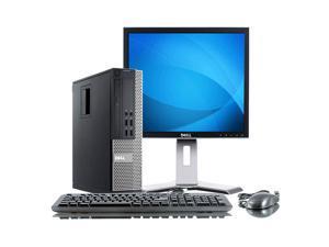 "Dell Optiplex 7010 Intel i5 3100 MHz 400Gig HDD 4096mb DVD ROM Windows 7 Home Premium 32 Bit + 19"" LCD Desktop Computer"