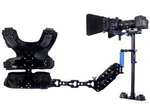 1-5kg Carbon Fiber Stabilizer Steadicam Camera DSLR Video Steadycam Vest Arm