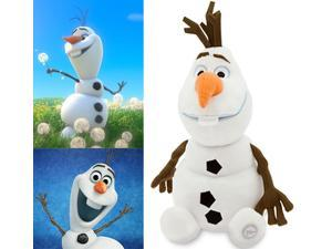 "Disney Frozen Plush Doll 18"" Olaf the Snowman Stuffed Toy"